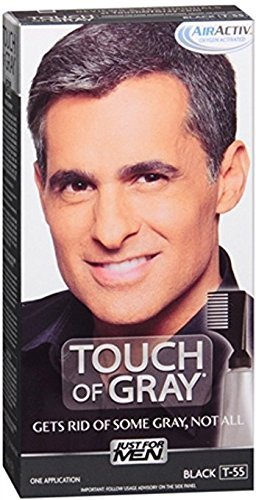 Just For Men Blk/Gry Size 1.4z Just For Men Touch Of Gray Black - Gray Hair Color