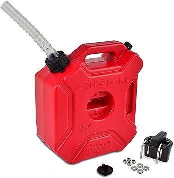 Portable Oil Drum,5L Fuel Can for Most SUV 1 PC Car Oil Drum,Plastic Petrol Barrel