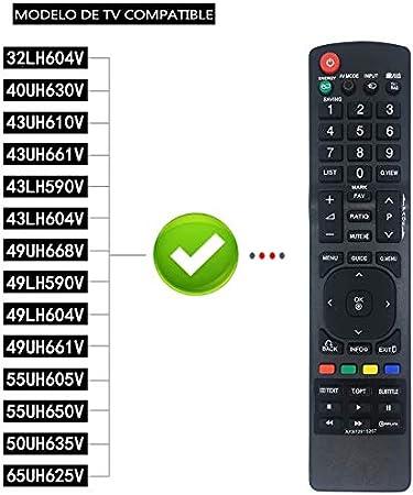 Nuevo Reemplazo LG AKB72915207 Mando a Distancia para LG Smart TV Ajuste Control Remoto por LG TV AKB72915207 AKB72915244 AKB72914202 AKB72915246 AKB73275606 AKB72915217: Amazon.es: Electrónica