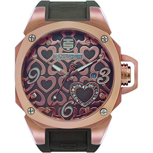 TechnoSport Woman's Chrono Watch - TRUELOVE rose gold
