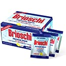 Brioschi Effervescent Antacid Single Serving Travel Packets Aspirin Free All Natural Fast Relief For Upset Stomach, Acid Indigestion, Heartburn and Bloating, (10 Packets)
