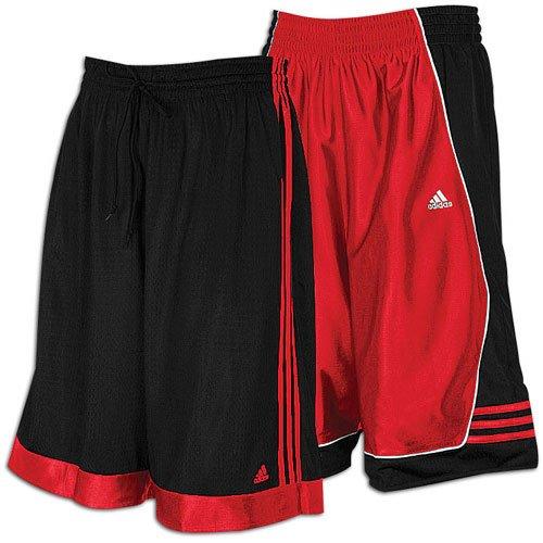 UPC 883126840008, adidas Men's Atlas Reversible Short ( sz. M, University Red/Black )