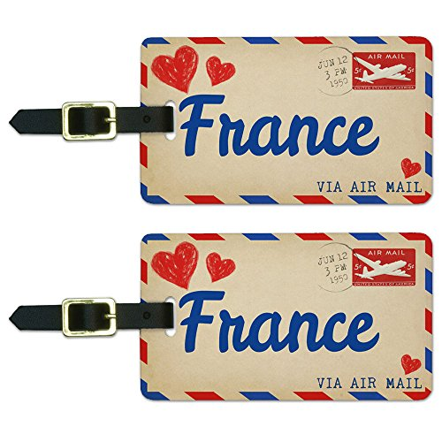air-mail-postcard-love-for-france-luggage-suitcase-carry-on-id-tags-set-of-2