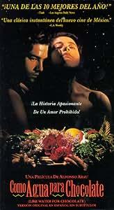 Como agua para chocolate [USA] [VHS]: Amazon.es: Marco
