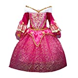 DreamHigh Sleeping Beauty Princess Aurora Girls Costume Dress Size 3-4 Years