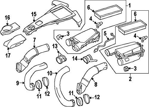 Mercedes Benz 007 153 05 28 Manifold Absolute Pressure Sensor