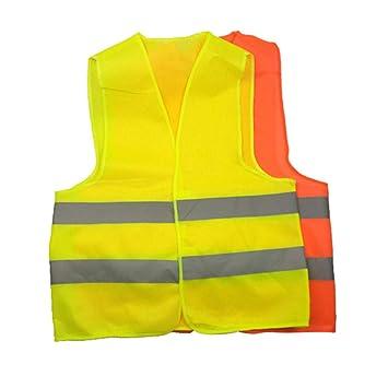 Hi Viz Executive Work Safety Zip Vest Pocket Hi Vis Waistcoat High Visibility S-6XL
