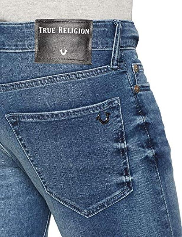 True Religion Męskie dżinsy Tony Skinny: Odzież