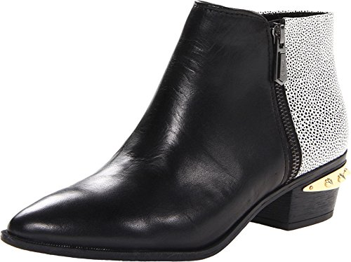 Circus by Sam Edelman Women's Holt Ankle Boot, Black/White, 8.5 M US (Black And White Booties)