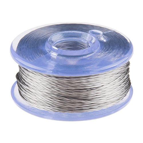 Conductive Thread Bobbin - 12m (Smooth, Stainless Steel) -