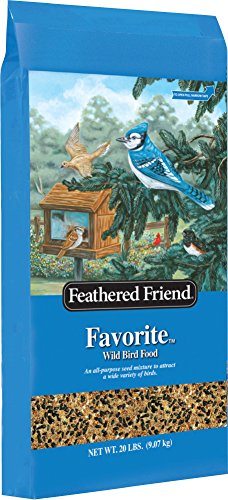 Feathered Friend Favorite Wild Bird Seed, 20 - Bird Friends Feathered Food
