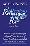 img - for 1: Reflections of the Rav: Lessons in Jewish Thought Adapted from the Lectures of Rabbi Joseph B. Soloveitchik book / textbook / text book