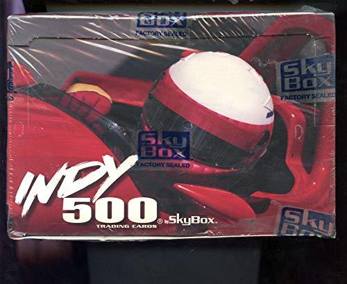 1995 Skybox Indy 500 Indianapolis Racing Car Card Set Wax Pack Box FACTORY SEAL