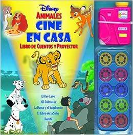 Disney Animales Cine En Casa: Libro de Cuentos y Proyector With ...