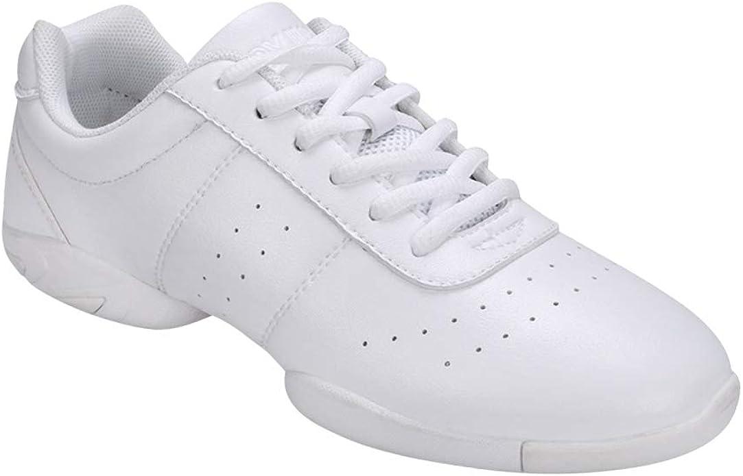 uirend Tanzschuhe Sport Schuhe Damen Leder Lace Up