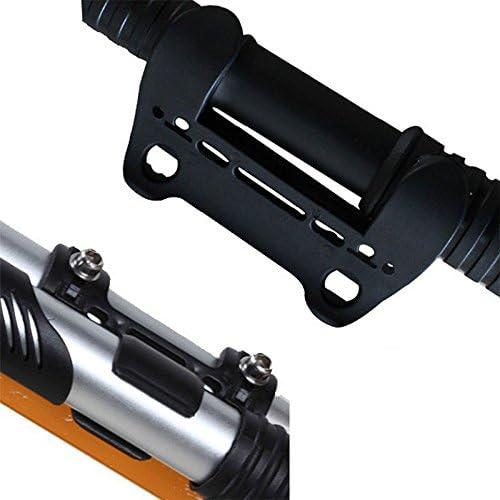 Merssavo 2PC Plastique Compact V/élo de Gonfleur de pompe /à air de fixation de support de cadre support /à clip