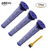 ABC life 3 Pack Replacement Filter Compatible Dyson DC58 DC59 V6...