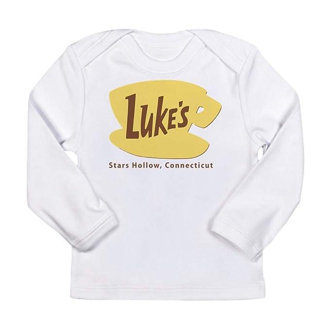 7332b261 CafePress Luke's Diner Gilmore Girls Log Long Sleeve T-Shirt Long Sleeve  Infant T-