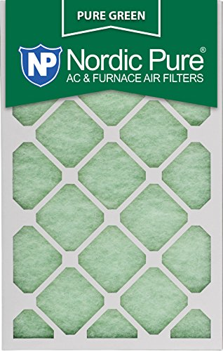 18x25x1PureGreen-6 AC Furnace Air Filters, 6-Piece by Nordic Pure