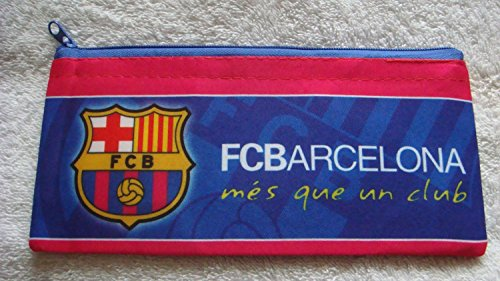 (Official FC BARCELONA home style pencil case.)