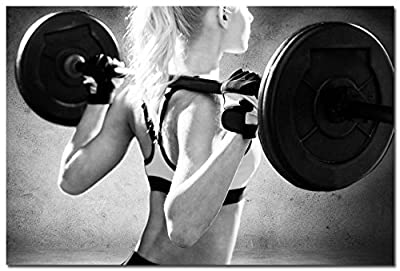 BestWeeks BodyBuilding Women Fitness Motivational Art Silk Wall Poster Gym Picture For Wall Decor 167