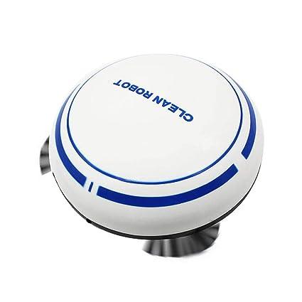 Everpert Robot Aspirador y Fregasuelos, USB Recargable Inteligente Inducción Hogar Aspirador, Mini Robot de