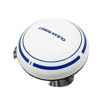 Everpert Robot Aspirador y Fregasuelos, USB Recargable Inteligente Inducción Hogar Aspirador, Mini Robot de Barrido Automático Aspiradora de Limpieza ...