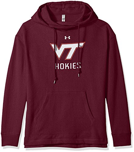 Under Armour NCAA Virginia Tech Hokies Women's Pull-Over Fleece Hoodie, Large, ()