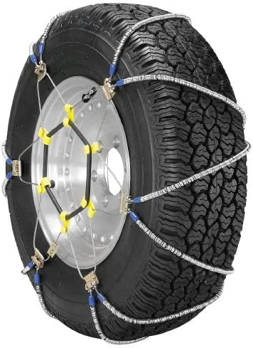 Set of 2 Security Chain Company SZ480 Super Z8 8mm Commercial and Light Truck Tire Traction Chain