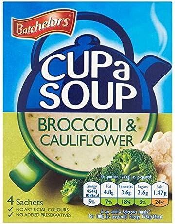 Batchelors Taza Un Brócoli Sopa Y Coliflor 4 X 25 G