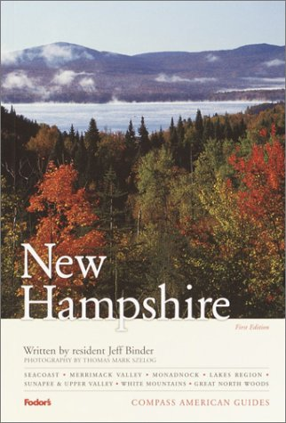 Vt Full Color - Compass American Guides: New Hampshire, 1st Edition (Full-color Travel Guide)