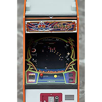 Namco Arcade Machine Collection: Galaga 1/12 Scale Miniature Replica: Toys & Games