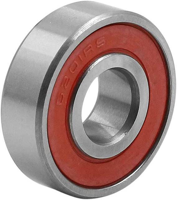 uxcell/® 6201RS Deep Groove Ball Bearing Rubber Sealed Shielded Universal 32 x 12 x 10mm