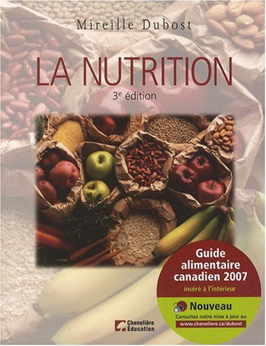 La nutrition (French Edition)