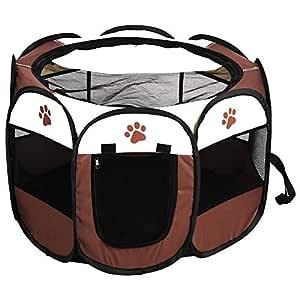 Tienda de campaña para mascotas, jaula de malla para perro, para ...
