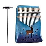 Kalimba Thumb Piano 17 keys Mahogany Wood