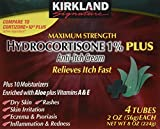 Best Hydrocortisone Creams - Kirkland Hydrocortisone %1 Cream 4 Tubes 2oz Each Review