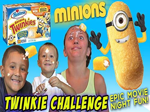 (Minions Twinkle Challenge! Banana Smash!)