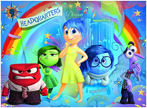 (Ravensburger Disney Inside Out Mixed Emotions 100 Piece Jigsaw Puzzle for Kids – Every Piece is Unique, Pieces Fit Together Perfectly)