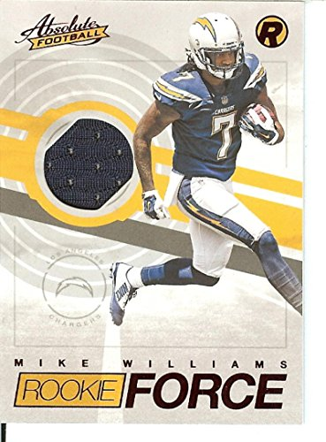Football NFL 2017 Absolute Rookie Force Red #3 Mike Williams by