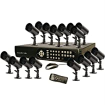 Security Labs 16-Channel 500GB HD DVR with 16 Indoor/Outdoor Cameras SLM435