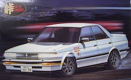 フジミ模型 1/24峠シリーズ10 GX71チェイサー