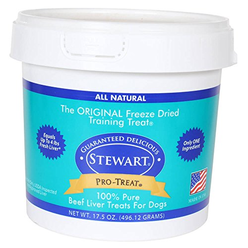 - Miracle Pro Treat Freeze Beef Liver Tub, 17.5-Ounce