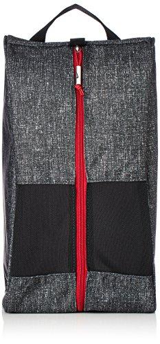 NIKE Sport III Golf Shoe Tote (Black/Heather/Gym Red)
