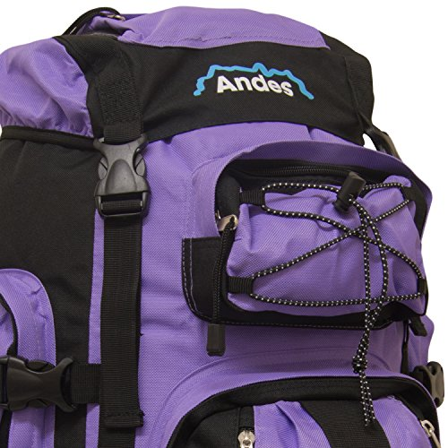 Rucksack Ramada Andes Lilac Large Luggage Bag 120L Extra Hiking Camping Backpack Tq1BF