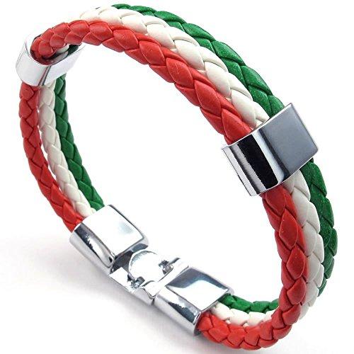 KONOV Feather Bracelet Italian Banner