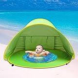 Beach Tent, Beach Shade, Anti UV Instant Portable Tent Sun Shelter, Pop Up