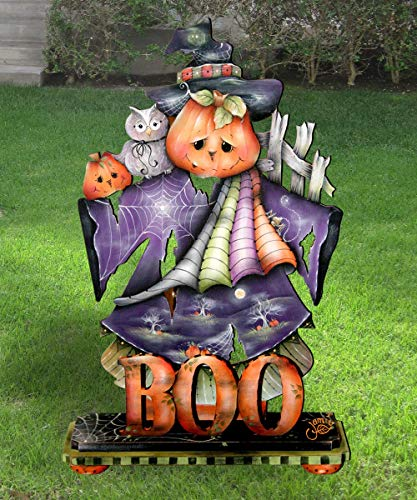 Halloween Outdoor Decorations, Lawn decor, This Boos for You Halloween Free-Standing Yard Display Decoration by Jamie Mills-Price #8457407F]()