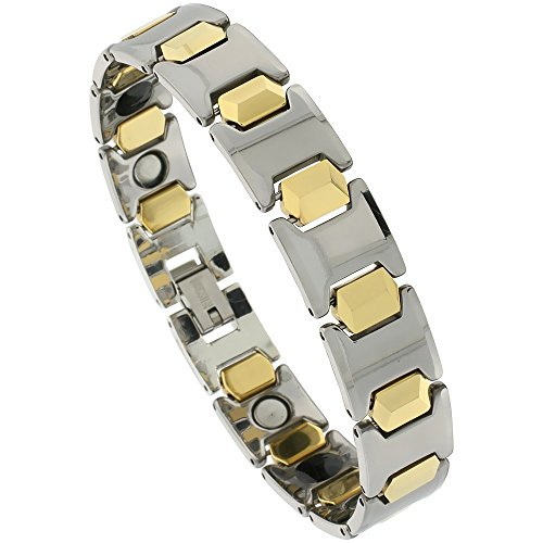 Tungsten Carbide Bracelet Magnetic Therapy