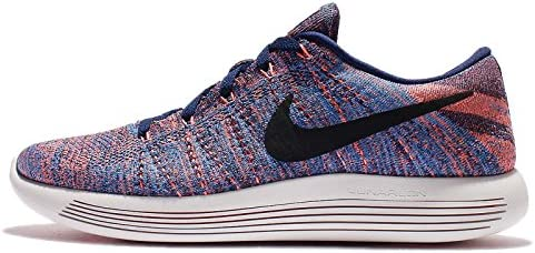 Nike Lunarepic Low Flyknit Mens Running Trainers 843764 Sneakers Shoes US 10.5, Loyal Blue Black Glow 400
